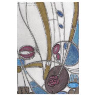 Mackintosh roses tissue paper