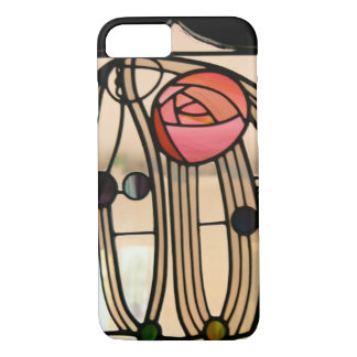 Mackintosh - Stained Glass Window, The Hill House iPhone 8/7 Case