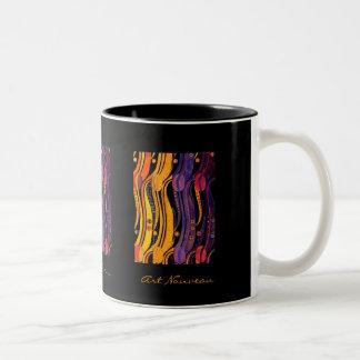 Mackintosh: Tulips Design Two-Tone Coffee Mug