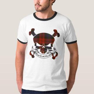 MacLachlan Tartan Skull T-Shirt