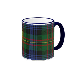 MacLaren Plaid Mug, Blue Handle