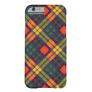 MacLea clan Plaid Scottish kilt tartan Barely There iPhone 6 Case
