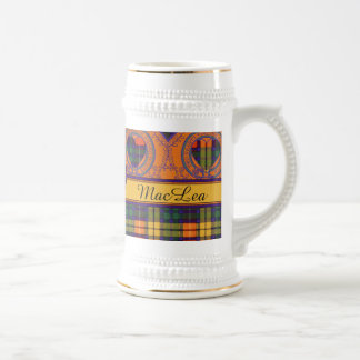 MacLea clan Plaid Scottish kilt tartan Beer Steins