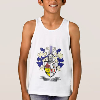 MacLean Family Crest Coat of Arms Singlet