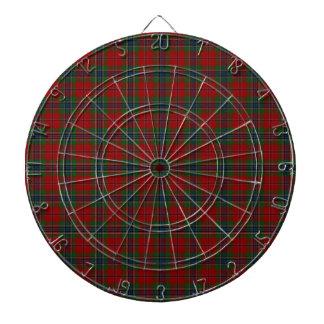 Maclean Tartan Scottish Modern MacLean of Duart Dartboard