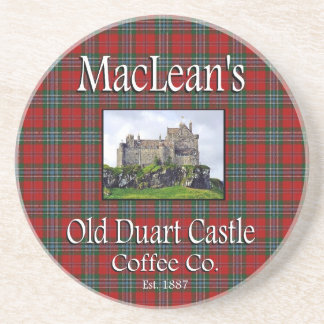 MacLean's Old Duart Castle Coffee Co. Coaster