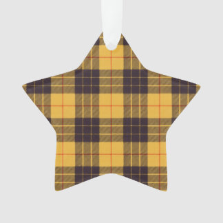 Macleod of Lewis & Ramsay Plaid Scottish tartan Ornament