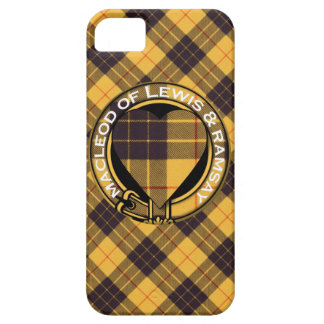Macleod of Lewis & Ramsay Scottish Tartan Case For The iPhone 5