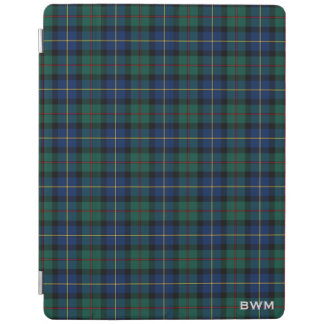MacLeod of Skye Clan Tartan Monogram iPad Cover