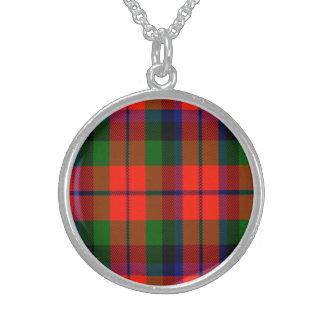 Macnaughton Scottish Tartan Sterling Silver Necklace