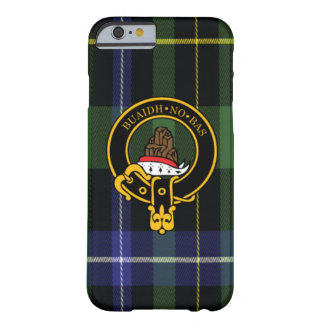 Macneil Scottish Crest and Tartan iPhone 6 case Barely There iPhone 6 Case
