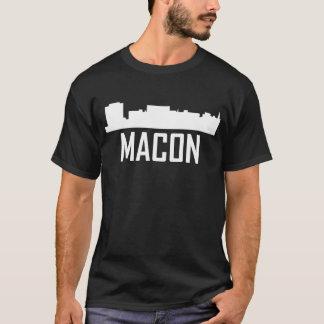 Macon Georgia City Skyline T-Shirt