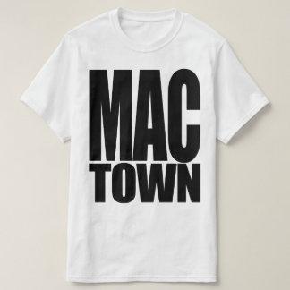 """MACON GEORGIA """"MAC TOWN"""" T SHIRT"""