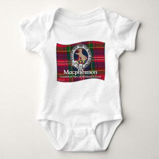 Macpherson Clan Apparel Baby Bodysuit