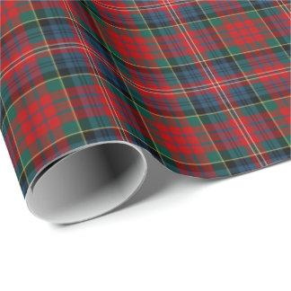 MacPherson Clan Tartan Wrapping Paper