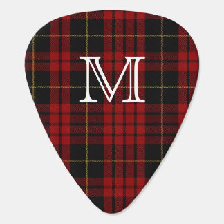 MacQueen Tartan Plaid Monogram Guitar Pick