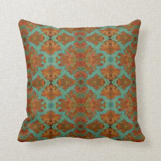 Macro Copper Patina 07986 Cushion