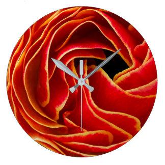 Macro Flower | Flower Fields Carlsbad, CA Large Clock