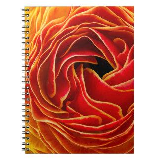 Macro Flower | Flower Fields Carlsbad, CA Spiral Notebook