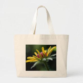 Macro Flowers Petals Large Tote Bag
