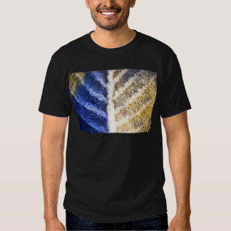 Macro Frosted Leaf T Shirts