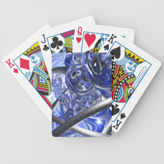 Macro Glass And Steel Bands Bicycle Playing Cards