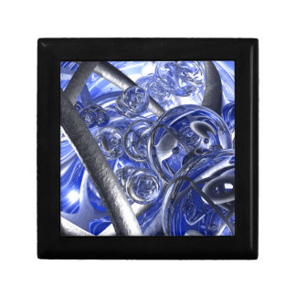 Macro Glass And Steel Bands Gift Box