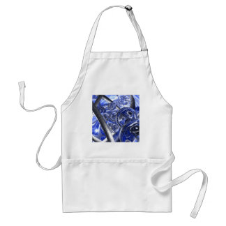 Macro Glass And Steel Bands Standard Apron