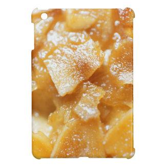 Macro of almond splitters on a cake iPad mini cover