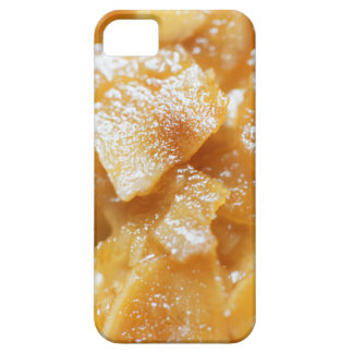 Macro of almond splitters on a cake iPhone 5 case