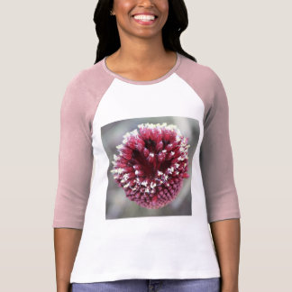 Macro of Round-Headed Leek Flower Allium sphaeroce T-Shirt