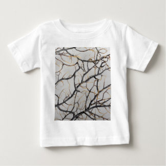 Macro photo of a dry gorgonian coral. baby T-Shirt