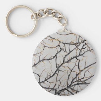 Macro photo of a dry gorgonian coral. key ring