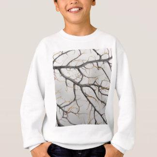 Macro photo of a dry gorgonian coral. sweatshirt