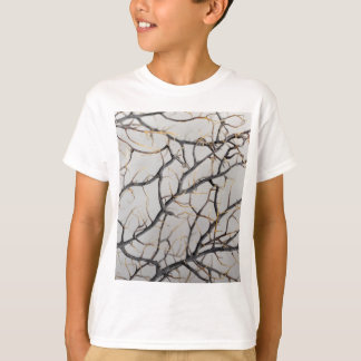 Macro photo of a dry gorgonian coral. T-Shirt
