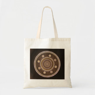 Macro photo of a Hard Disk Drive Canvas Bags