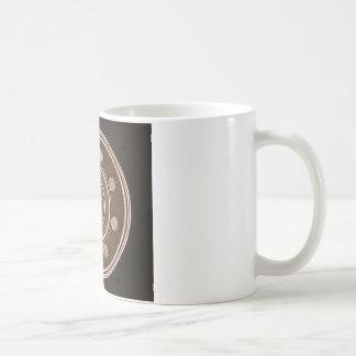 Macro photo of a Hard Disk Drive Basic White Mug