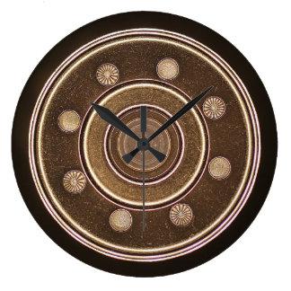Macro photo of a Hard Disk Drive Wall Clocks