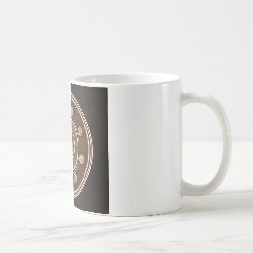 Macro photo of a Hard Disk Drive Mug