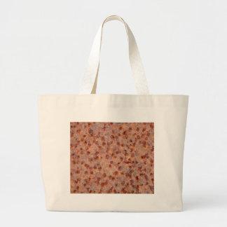 Macro photo of a rusty iron sheet. large tote bag