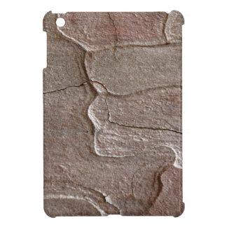 Macro photo of pine bark cover for the iPad mini