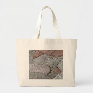 Macro photo of pine bark large tote bag