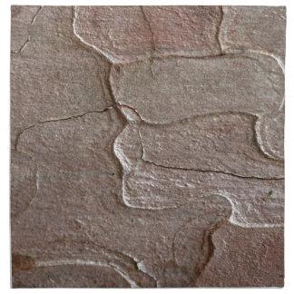 Macro photo of pine bark napkin