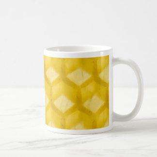 Macro Photo Of The Honeycomb Template Coffee Mug