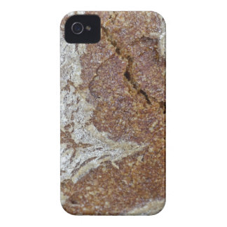 Macro photo of the surface of brown bread from Ger iPhone 4 Case-Mate Case