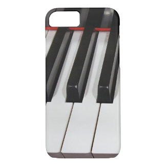 macro piano keys iPhone 8/7 case