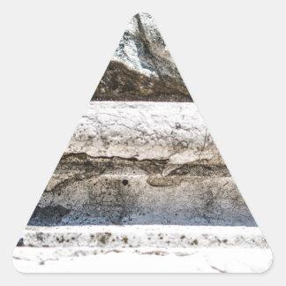 Macro Rock Triangle Sticker