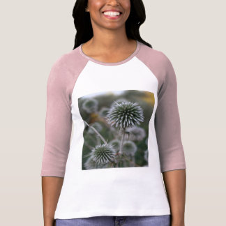 Macro Seed Head of Round Headed Garlic T-Shirt