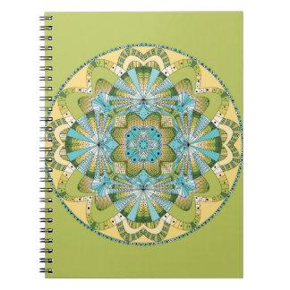 Macro shot of callas notebooks