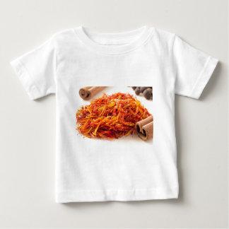 Macro view on fragrant saffron closeup baby T-Shirt